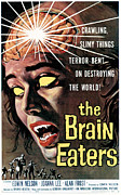 Pos Prints - The Brain Eaters, 1958 Print by Everett