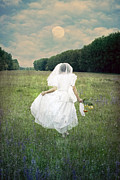 Field Flowers Prints - The Bride Print by Joana Kruse