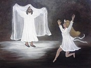 Child Jesus Paintings - The BrideGroom Calls by Patty  Thomas