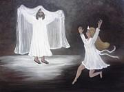 The Bridegroom Calls Print by Patty  Thomas