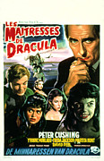 Horror Movies Framed Prints - The Brides Of Dracula, Aka Les Framed Print by Everett