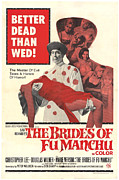 Moustache Prints - The Brides Of Fu Manchu, Christopher Print by Everett