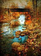 The Bridge By Government Street Print by Tara Turner