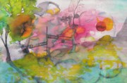 Creative Paintings - The Bridge by Cassandra Donnelly