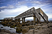 Ballycastle Photos - The Bridge by David Gibson