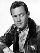 1950s Portraits Framed Prints - The Bridges At Toko-ri, William Holden Framed Print by Everett