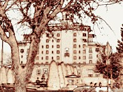 The Western Hotel Photos - The Broadmoor Revised by Clarice  Lakota