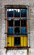 Broken Window Framed Prints - The Broken Window Framed Print by Karon Melillo DeVega