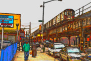 Bronx Digital Art - The Bronx -new York. by Terry Collett