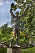 Benjamin Franklin Parkway Photos - The Bronze Stallion II - Rocky Balboa - Philadelphia - Pennsylvania - Rocky Steps by Lee Dos Santos