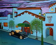 Vine Paintings - The Brown Derby by Tracy Dennison