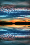 Okanagan Prints - The Brush Strokes of Evening Print by Tara Turner