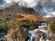 Glen Coe Prints - The Buachaille Etive Mor Scotland Print by Amanda Finan