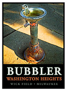 Milwaukee Framed Prints - The Bubbler Framed Print by Geoff Strehlow