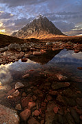 Buachaille Etive Mor Framed Prints - The Buckle Framed Print by Andy Wilson