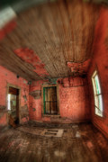 Abandoned Buildings Photo Prints - The Burden of Time Print by Wayne Stadler