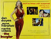 1957 Movies Photo Prints - The Burglar, Jayne Mansfield, Dan Print by Everett