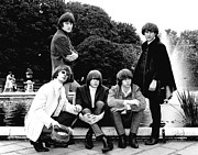 Hillman Framed Prints - The Byrds 1985 Framed Print by Chris Walter
