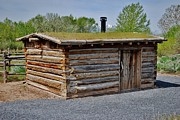 Log Cabins Art - The Cabin by Dwayne Cain