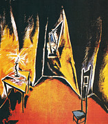 The Cabinet Of Dr Caligari Print by Nomad Art And  Design