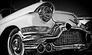 Paint Photograph Prints - The Cadillac 2 Print by Perry Webster