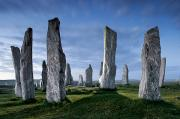 Outer Hebrides Posters - The Callanish Standing Stones, Cut Poster by Jim Richardson