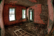 Abandoned Buildings Photo Prints - The Calming Effect Print by Wayne Stadler