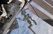 Module Framed Prints - The Canadian-built Dextre Robotic Framed Print by Stocktrek Images