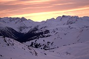 Holidays And Celebrations Prints - The Canadian Rockies At Sunrise Print by Taylor S. Kennedy