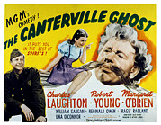 1944 Movies Posters - The Canterville Ghost, Robert Young Poster by Everett