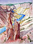 Canyon Drawings - The Canyon by Jimmy Smith