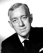 British Portraits Prints - The Captains Paradise, Alec Guinness Print by Everett