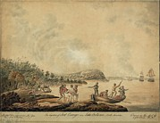 War Of 1812 Prints - The Capture Of Fort Oswego On Lake Print by Everett