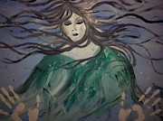 Cried Prints - The capture of haunting beauty  Print by Ronald Mcduff