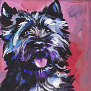 Toto Paintings - The Caring Cairn by Lea