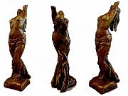 Figurative Sculpture Prints - The Caryatid Print by Lisbeth Sabol