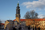 Historical Buildings Photo Posters - The Castle - Weimar - Thuringia - Germany Poster by Christine Till