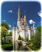 Fantasy Photo Originals - The Castle by Arnie Goldstein