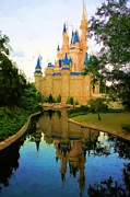 Fantasy Photos - The Castle by Jenny Hudson