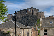 Edinburgh Photos - The castle by Marion Galt