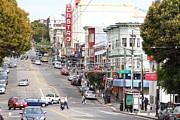 Eureka Valley Posters - The Castro in San Francisco . 7D7567 Poster by Wingsdomain Art and Photography