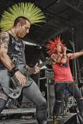 Music Photos - The Casualties by Ricky Schneider