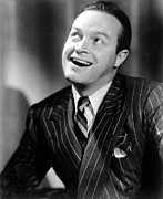 Pinstripe Suit Prints - The Cat And The Canary, Bob Hope, 1939 Print by Everett