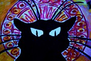 Michael Kulick Art - The Cat by Michael Kulick