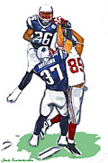 Tyree Prints - The Catch David  Tyree Print by Jack Kurzenknabe