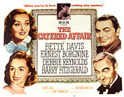 1956 Movies Photo Posters - The Catered Affair, Top Bette Davis Poster by Everett