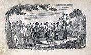 Slavery Photo Framed Prints - The Celebration Of The Sabbath Among Framed Print by Everett