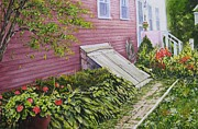 Back Porch Paintings - The cellar door by John Bowen
