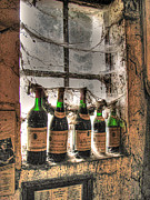 Grapes Photo Originals - The Cellar Window by William Fields