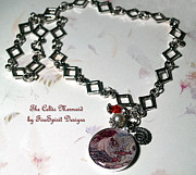 Mermaid Jewelry Originals - The Celtic Mermaid by Patricia Griffin Brett
